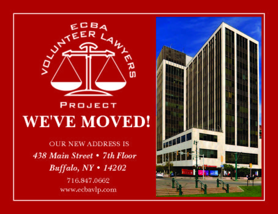 VOLUNTEER LAWYERS PROJECT HAS MOVED!